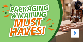 Packaging & Mailing Must Haves