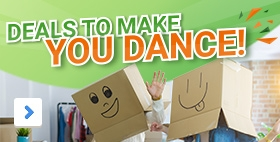 Deals to make you dance. Who said packaging wasn't fun?