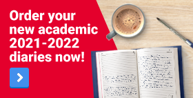 Order your new academic 2021-2022 diaries now!