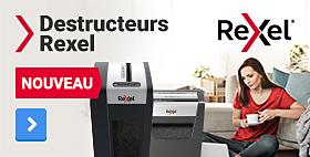 Destructeurs Rexel