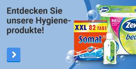 Entdecken Sie unsere Hygieneprodukte