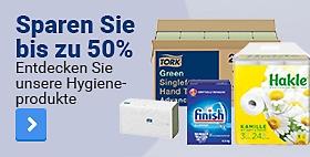 Sparen Sie bis zu 50%. Entdecken Sie unsere Hygieneprodukte