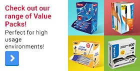 Check out our range of Value Packs! Perfect for high usage environments!