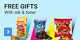 Free gifts with ink and toner products
