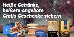Gratis Geschenke sichern Heiße Getränke, heißere Angebote