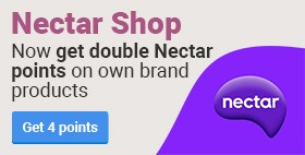 double Nectar points on own brand products