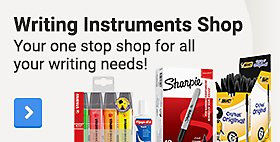 Writing Instruments Shop. Your one stop shop for all your writing needs!
