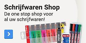 Schrijfwaren Shop. De one stop shop voor al uw schrijfwaren!