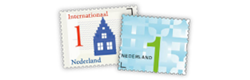 Vergeet je postzegels niet!