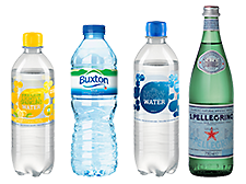 Drink water, feel better - Our wide water assortment