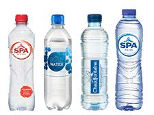 Boire de l'eau, être au top niveau - Notre large gamme d'eau