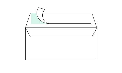 Kleefstrip enveloppen