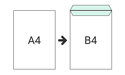 B4 (324 x 458 mm)