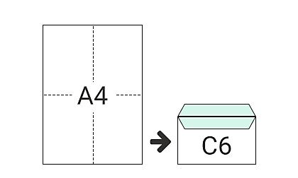 C6 (114 x 162 mm)