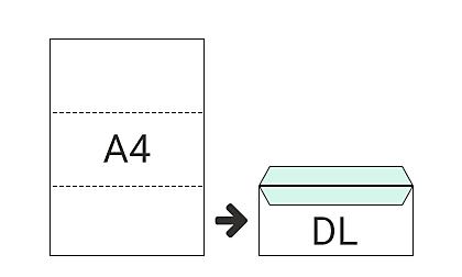 DL (110 x 220 mm)