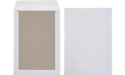 Monsterzak-/ kartonnen rug enveloppen