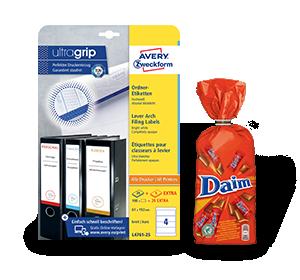 3 pakken ordner- en archiveringsetiketten