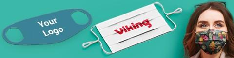 Personalisieren Sie Ihre Mundschutzmasken - Nutzen Sie Ihr eigenes Logo oder Design. Hochwertige Sonderanfertigung!