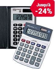 À partir de € 3,99 Calculatrices Office Depot
